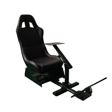 SPECIAL OFFER Foldable Evolution Simulator Seat Racing Cockpit For Logitech G27 G29 XBox PC Black