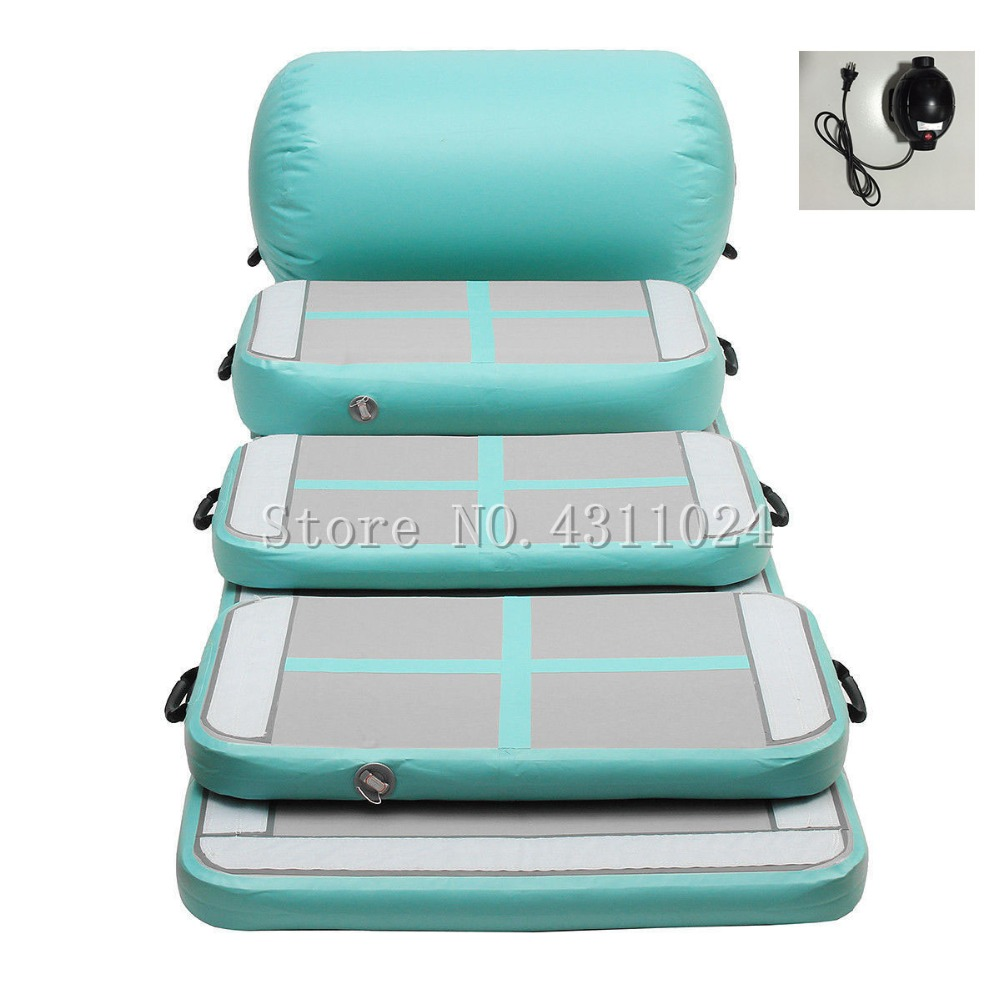 Livraison gratuite tapis de gymnastique gonflable tapis de culbuteur Air piste de culbuteur Air tapis de sol gonflable piste d'air pour la maison/Cheerleading