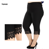 TUHAO Large Sizes Of Women S Clothing Summer Women S Pants 2018 Casual Straight Calf Length
