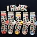 Free Shipping 2 designs tutuanna Dinosaur colorful heart crystal glass silk lady socks women socks