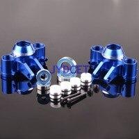 TRV021 Aluminum Steering Block Knuckle Für TRAXXAS 1/10 RC E REVO REVO 3 3 SUMMIT Vorne/Hinten Teile & Zubehör    -
