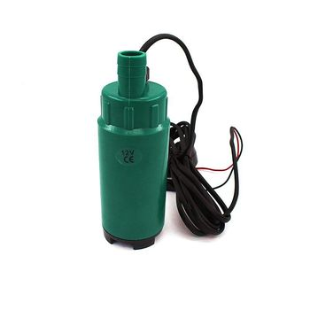 DC 12V 24V Submersible Diesel Fuel Electric Water Plastic Oil Pump Diameter 51MM 30L/Min 60W Car Camping Portable 19mm Hose submersible diesel fuel water oil suction pump with filter accessories stainless steel dc 12v 24v 30l min 60w car portable