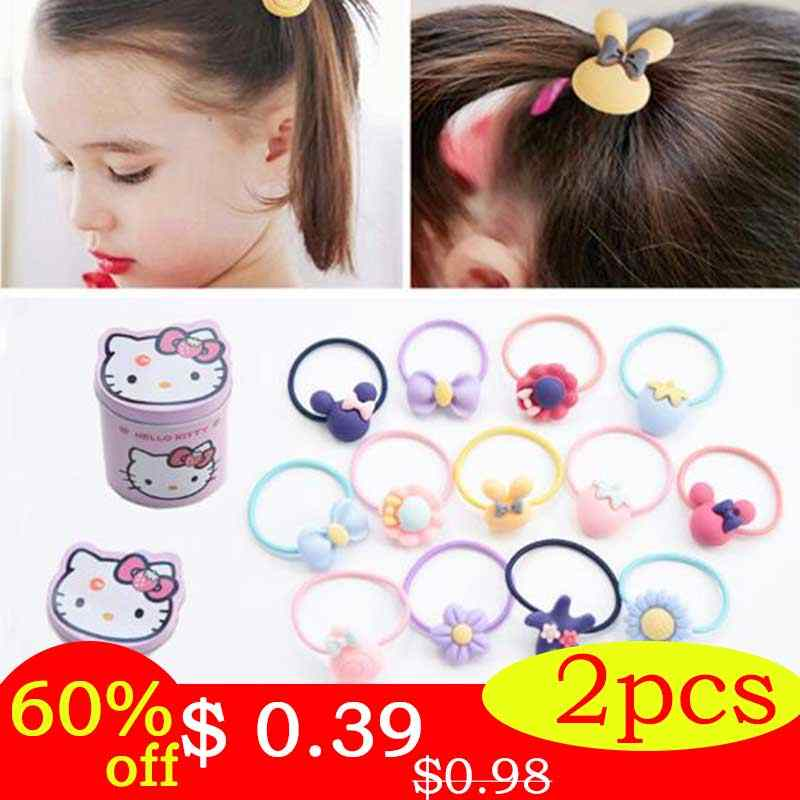 Fashion Kids Elastic Hair Bands Headbands Soft Fabric Cartoon Girls hairband Children Hair accessories Rubber band