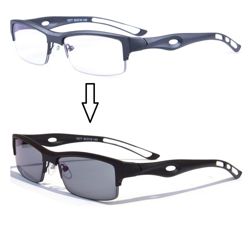 Vazrobe Gafas fotocromáticas Hombres Transición Camaleón Anteojos - Accesorios para la ropa
