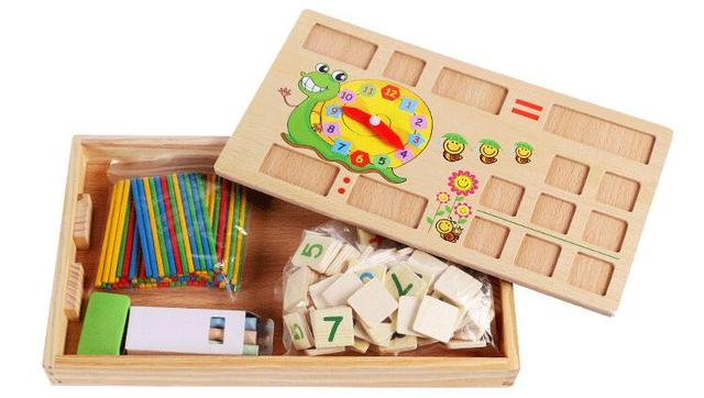 Count The Number Of Teaching Aids Rods Math Sticks Early Education
