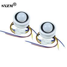 5 stücke/Lot 3005 26mm PIR Infrarot Ray Motion Sensor Schalter zeit verzögerung einstellbar modus detektor schalter Notfall licht