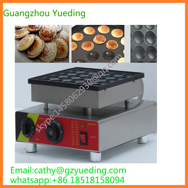 Poffertjes grill/home appliances mini pancake machine/electric cooking equipment/shopping/waffle maker 2017 electric 110v 220v 25 holes poffertjes grill dutch waffle maker mini pancake machine