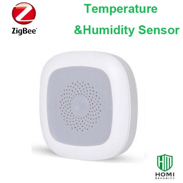 Zigbee Home Hot Cold Sensor Smart Temperature & Humidity Sensor