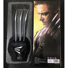 40cm X-Man Wolverine Claws Glove Cosplay X-man Anime Cool Action Figure Toys Movie Character Collection Models toys