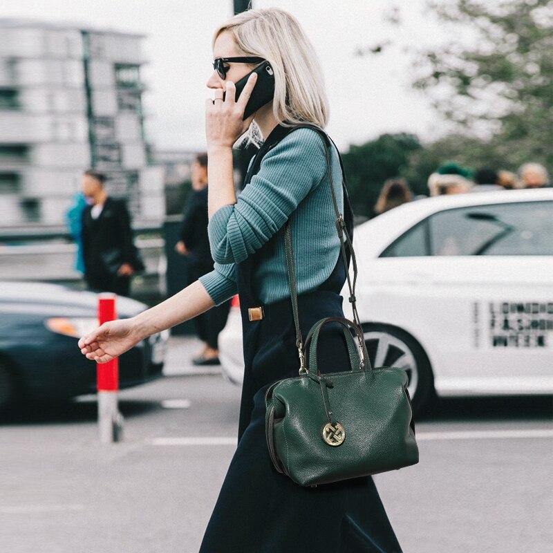 JIANXIU Marke Frauen Schulter Taschen Designer Handtasche Aus Echtem Leder 2019 Neueste Umhängetaschen Für Frauen Luxus Handtaschen 2 Farbe-in Schultertaschen aus Gepäck & Taschen bei  Gruppe 2