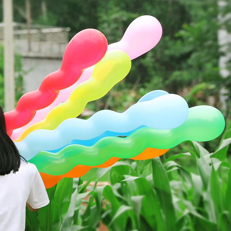 30Pcs/Lot Strip Latex Balloons Inflatable Air Balls for Weeding Birthday Kids Party DIY Accessories Decoration Baby Room Decor