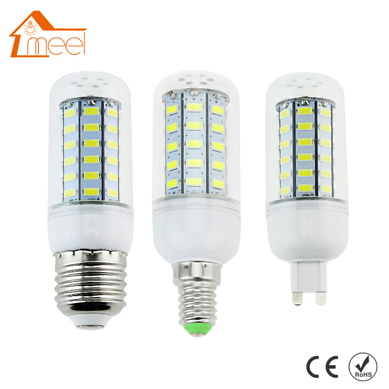 LED Lamps E27 E14 G9 5730 AC 220V 240V 24 36 48 56 69 72 Leds Lights Corn Bulb Chandelier Candle Lighting hh 139 toughened glass screen protector film for samsung galaxy note 2 n7100 transparent