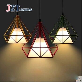 Best prezzo Tieyi lampadario diamante Cafe Ristorante Bar camera da letto moderno e minimalista industriale vento personalità creativa