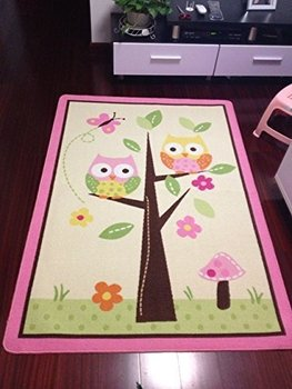 Pink Rugs For Bedroom   2018 Hot Sale Pink Carpet For Living Room Baby Play Mats Crawling Rug Carpet Educational Animals Rugs For Kids Girls