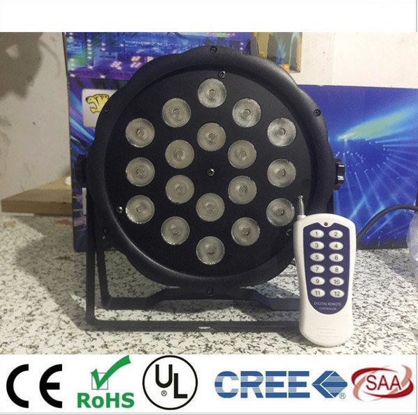 50m Wireless control 18x8W RGBW American DJ Mega Quad Par Profile Bright Stage LED Wash Light RGBW Color Mixing dj control