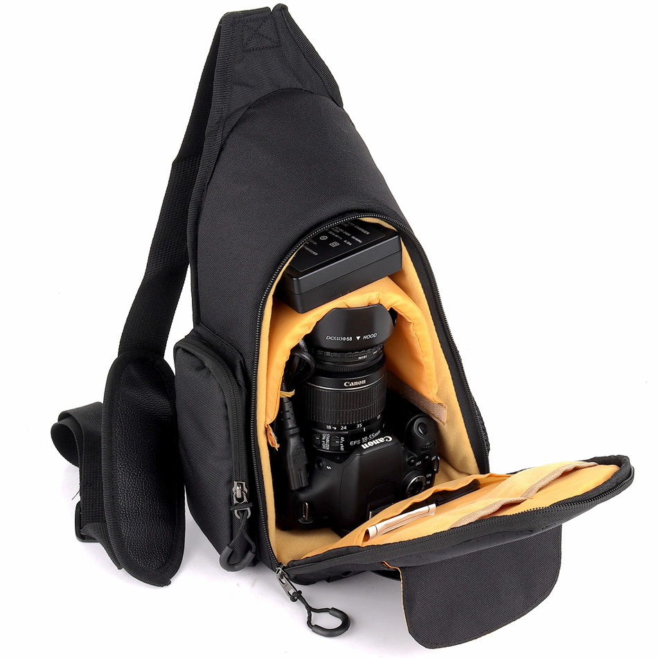 Waterproof Camera Shoulder Bag Backpack Case For Canon EOS 5D Mark III IV 70D 7D 5D Mark II 6D 5DR 700D 750D 760D 1300D 200D 77D