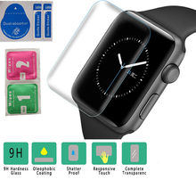 For Apple Watch Series 4/3/2/1 38mm 42mm 40mm 44mm HD Full Coverage TPU Screen Protector Film(China)