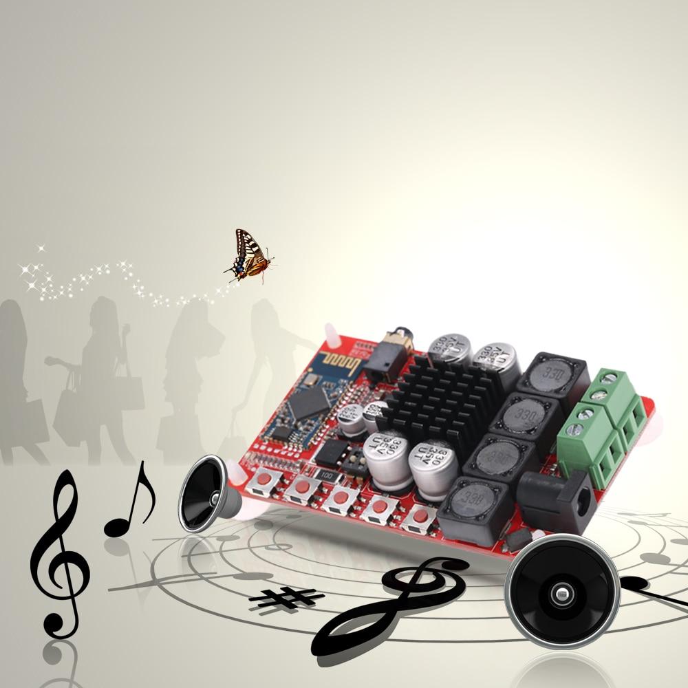 <font><b>TDA7492</b></font> 50 Вт + 50 Вт 2 канала аудио приемник Беспроводной <font><b>Bluetooth</b></font> Мощность Усилители домашние доска 4.0 стерео цифровой Мощность Усилители домашние м&#8230;