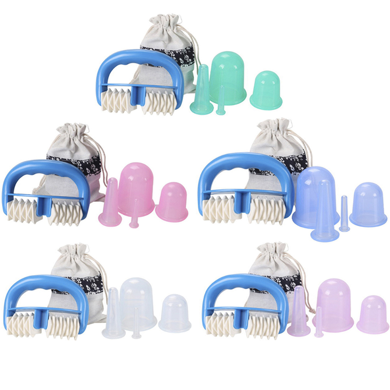 At Home Cupping Therapy: Manual Suction Massage Cups Cupping Therapy Set Silicone