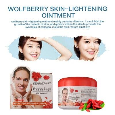 QIANSOTO Goji Cream Face Cream Anti-Aging Wolfberry Medlar Multi Effect Anti Wrinkle Inhibit The Activity Of Tyrosinase