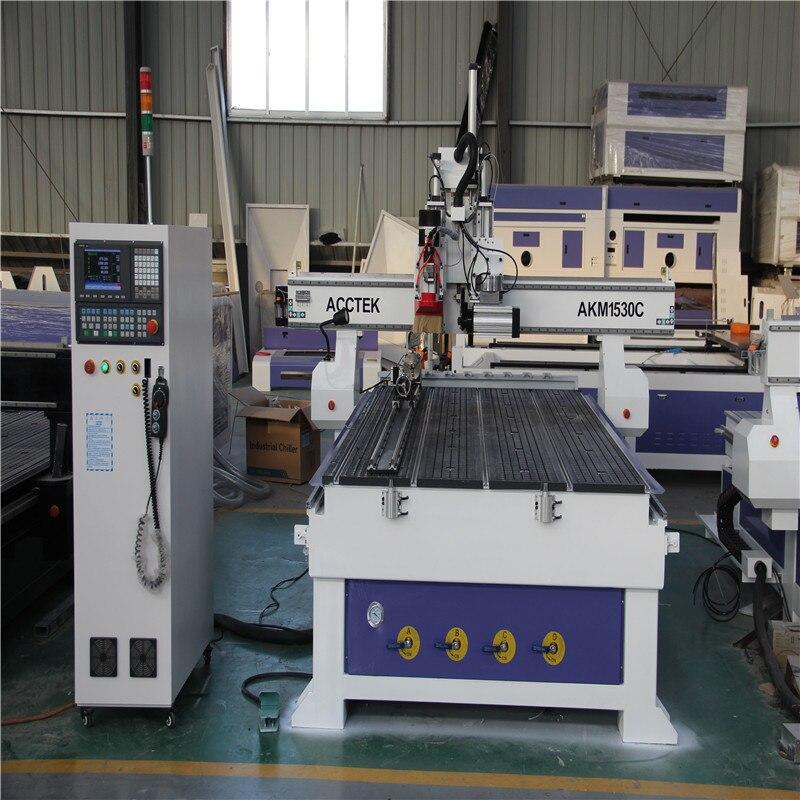 Multifunctional Automatic Cnc Wood Lathe Atc 3d Engraving Cnc Router Machine AKM1530C