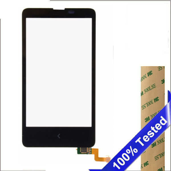 For Nokia X RM-980 Touch Screen Dual SIM 4 Glass Lens With Digitizer Mobile Phone Replacement