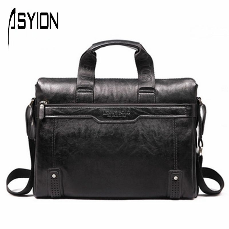 product ASYION 2016 new brand pu leather Business Handbag Men's Briefcase bag Men Messenger Bag bolsa fashion men travel bag DB3721-1