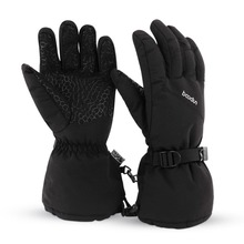 Winter Fleece Warm Ski Gloves Waterproof Windproof Snowboard Motorcycle Thermal Skiing Men Women