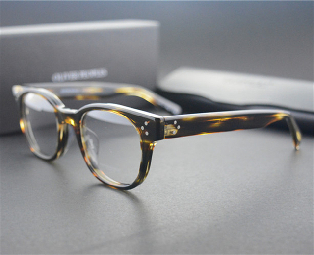 d70c123cf99 Famous Brand Oliver Peoples Afton Eyeglasses Frame Eyewear OV5236 Eye  Glasses Frames For Men And Women Oval Myopia Glasses Retro