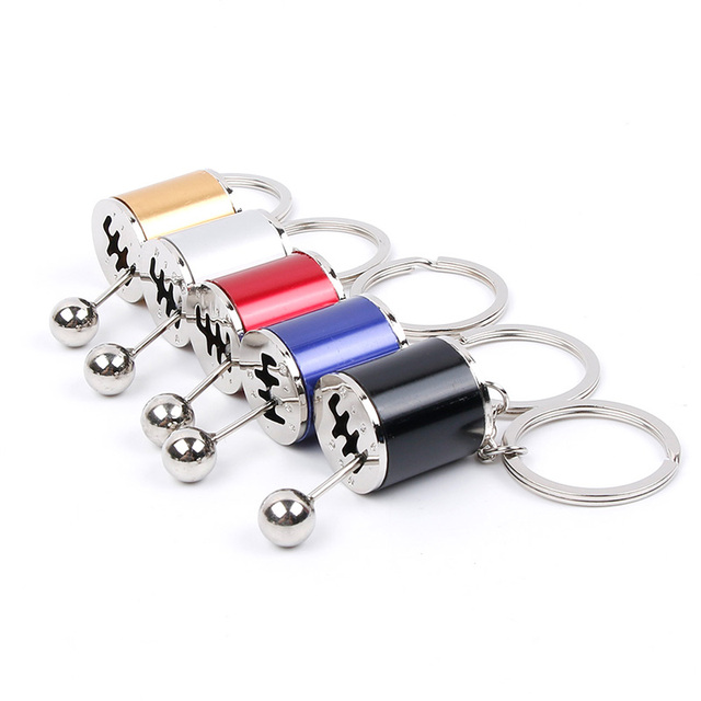 Car Gear Knob Keychain