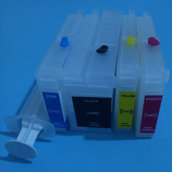 952 953 954 955 refillable cartridge without chip for hp image