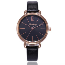 Top Brand Rose Gold Watch Women Luxury Leather Waterproof Wrist Watches Woman Ladies Fashion Casual Quartz Watch Clock relogio mige real top brand luxury casual fashion ladies watches white leather rose gold case female clock quartz waterproof women watch