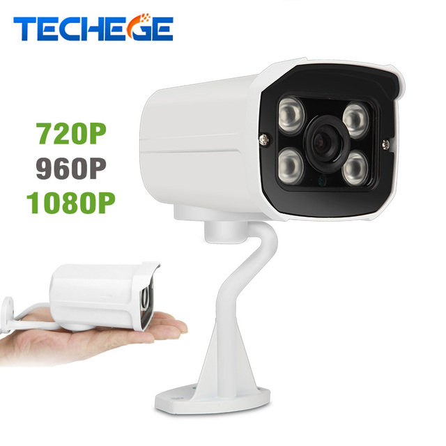 Techege 1080 p câmera ip hd de 2.0mp câmera de segurança night vision onvif motion detection p2p ir cut filter 720 p 960 p cctv câmera