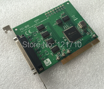 Industrial equipment board PCI-1610 REV.A1 02-2 4 PORT HIGH SPEED RS-232 COMMUNICATION C ...