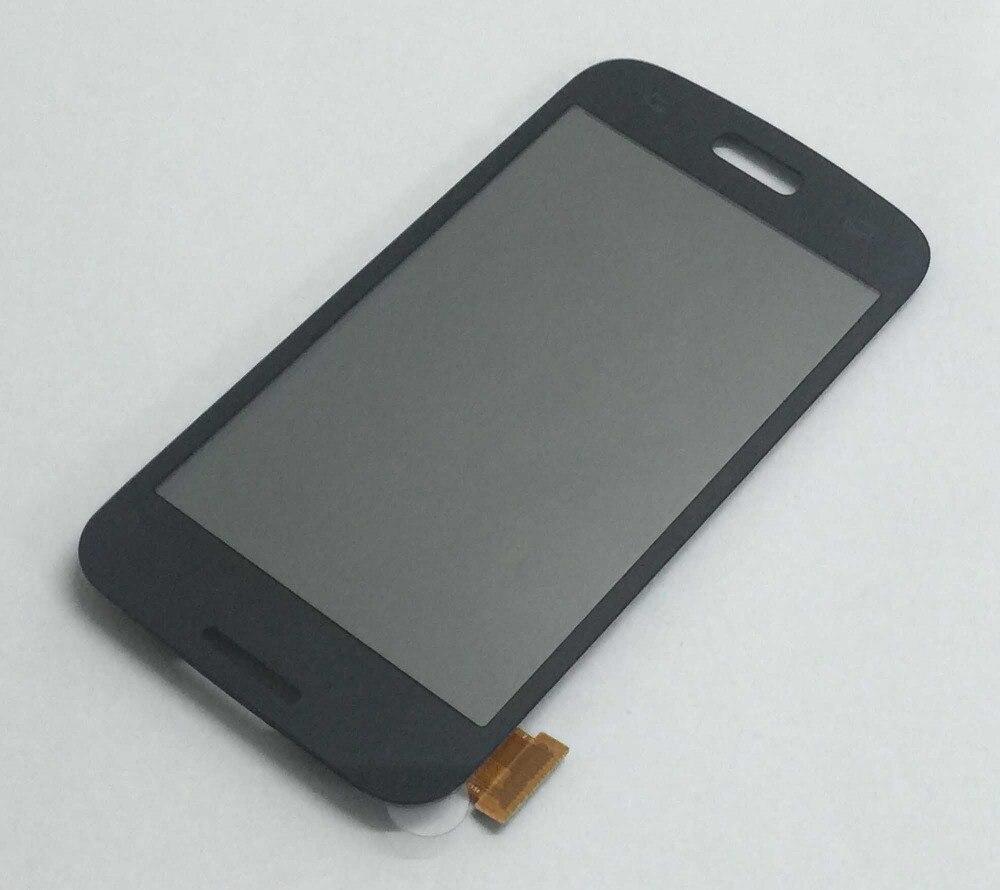 Weiß Schwarz Digitizer Touchscreen Sensor Glas + LCD Display Panel Montage Für Samsung Galaxy Stern 2 Plus SM-G350E G350E duos