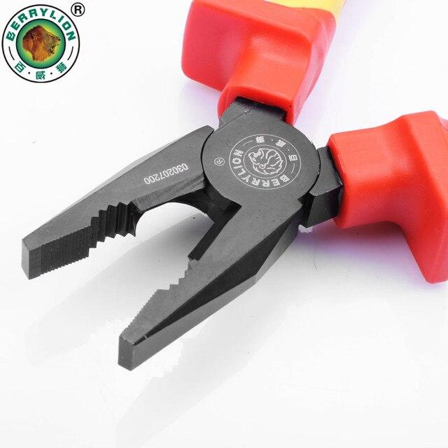 BERRYLION 6 /150mm VDE pince de coupe isolée 1000V pince combinée multioutil coupe-fil serrage électricien outils de réparation
