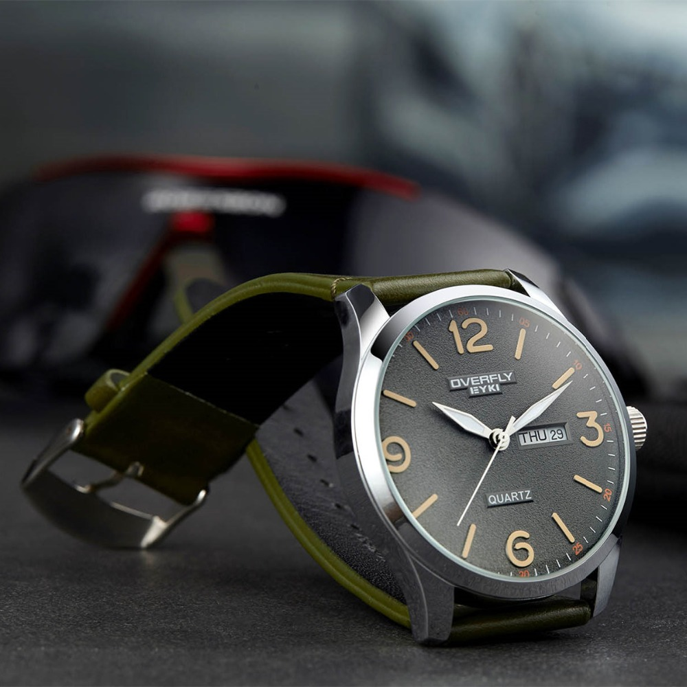 2018 New Luxury Brand Eyki Men Clock Male Military Watches M