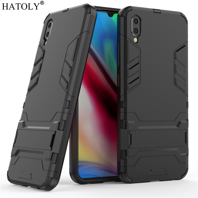 For Vivo Y93 Case Rubber Robot Armor Shell Bumper Funda Hard PC Back Phone Cover for Vivo Y93 Protective Case for Vivo Y93 Y93S