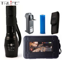 UltraFire E17 CREE XM L2 2200LM Tactical Cree Led Torch Zoom Cree LED Flashlight Torch Light