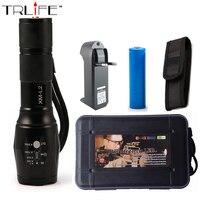 UltraFire E17 CREE XM L2 2200LM Tactical Cree Led Torch Zoom Cree LED Flashlight Torch Light