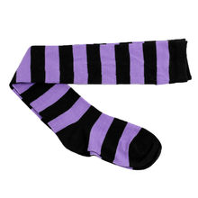 Clothing Shoes & Accessories Socks 1pc Comfortable Socks Keep Warm Wide Stripes Long Tube-shaped Sock 2018 Nov14(China)