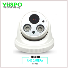 YiiSPO Plastic HD CCTV Camera  LED Board Video Security Camera Indoor CCTV AHD 720P/960P/1080P FULL HD wide lens 3.6mm 6mm
