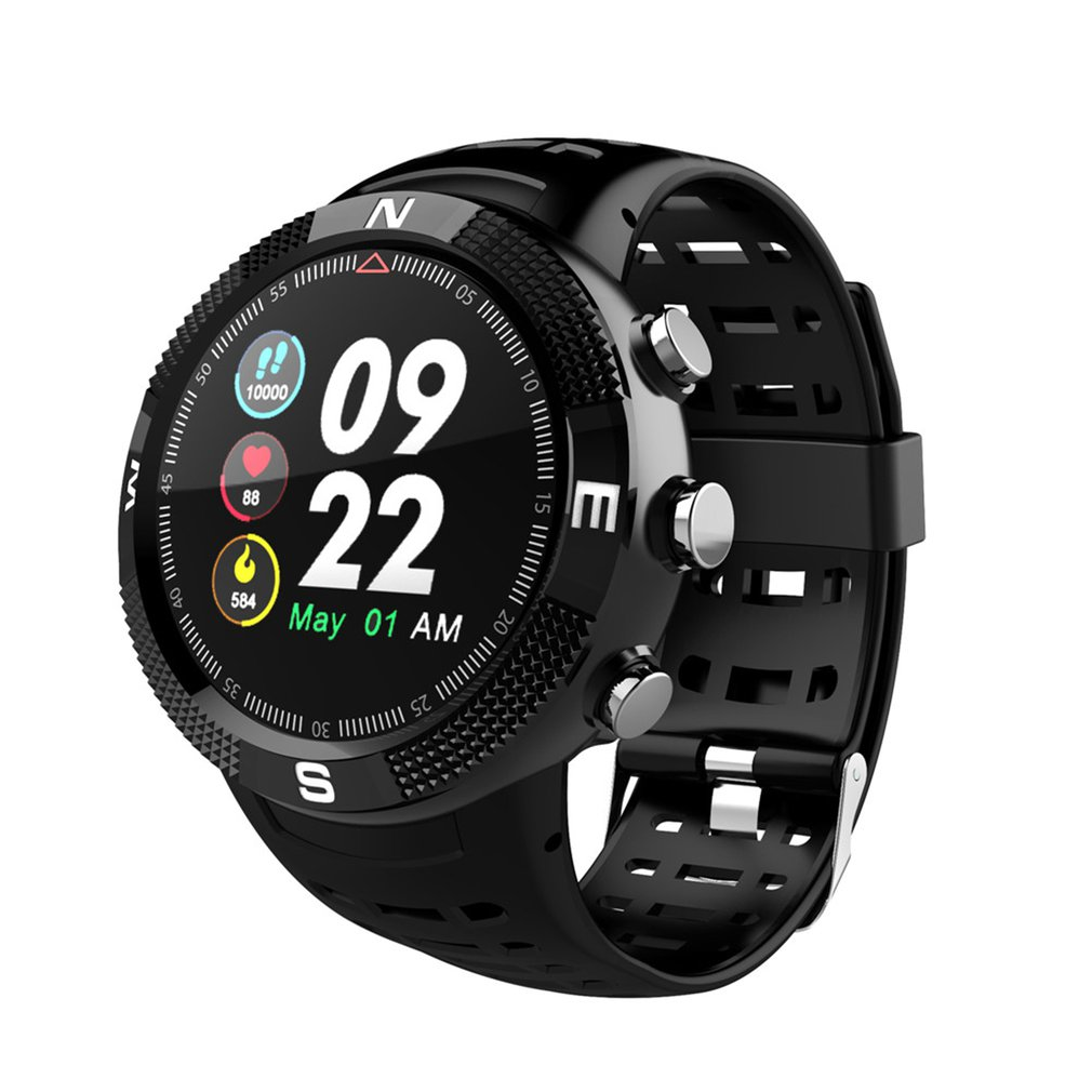 For DTNO.I NO.1 F18 Smartwatch Sports Bluetooth 4.2 IP68 Waterproof Smart Watch GPS Call Message Reminder Pedometer image