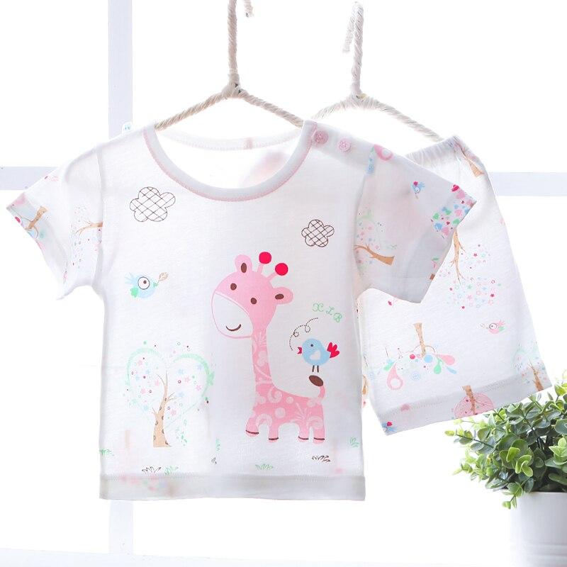 2018 Marke Kinder Pyjamas Sets Super Weich Bambusfaser Sommer Kurzarm Nachtwäsche Pyjamas Kinder Für Mädchen Jungen Baby Pyjamas
