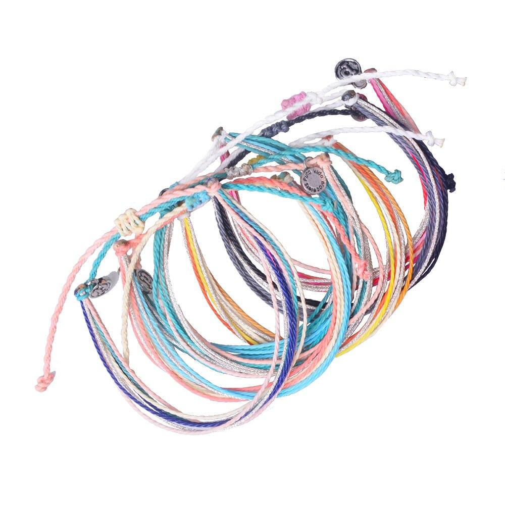 new fashion wax string water proofing bracelet women bracelet friendship bracelet homme. Black Bedroom Furniture Sets. Home Design Ideas