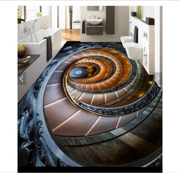 3D wallpaper customized 3D pvc floor painting wall paper 3 d ground floor painting murals bathroom floor living room wallpaper 3d floor painting wallpaper 3d floor painting sky stars swirl pvc wallpaper 3d floor wallpaper 3d for bathrooms