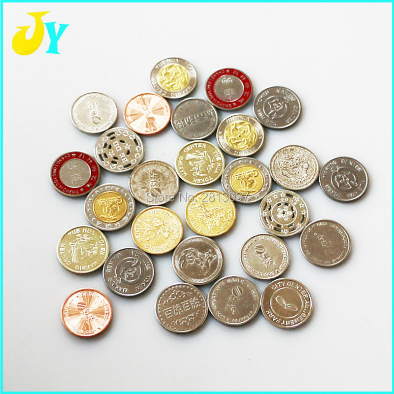 US $14 5 |500pcs Game Tokens 25*1 85mm Stainless steel token Game Coin  Arcade game machine currency-in Coin Operated Games from Sports &  Entertainment