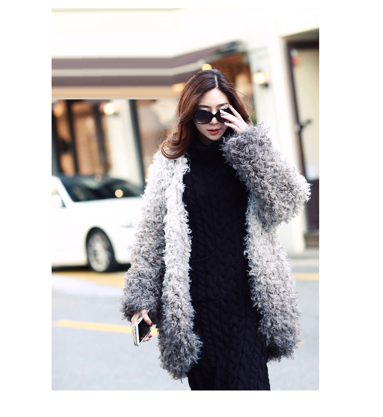 OHCLOTHING 19 European winter wool knitting female thickening noble temperament self-cultivation long bottom Sweaters 18