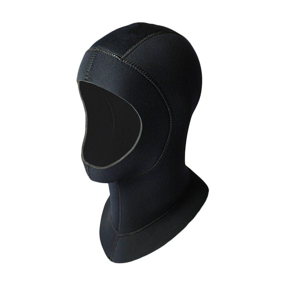 5mm Neoprene Scuba Diving Cap Snorkeling Equipment Hood Winter Waterproof Swim Hat Ear Warm Wetsuit Cap Protect Hair Wetsuit