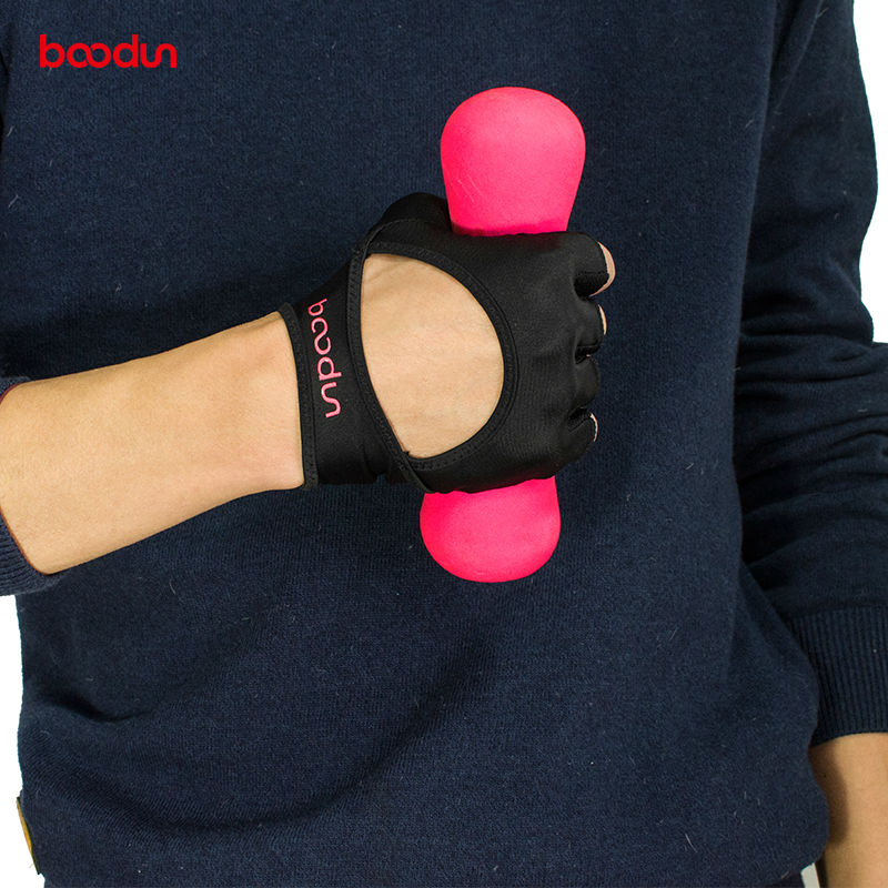 Women Work Out Gloves Weight Lifting Gym Sport Exercise: BOODUN Body Building Fitness Gloves Weight Lifting